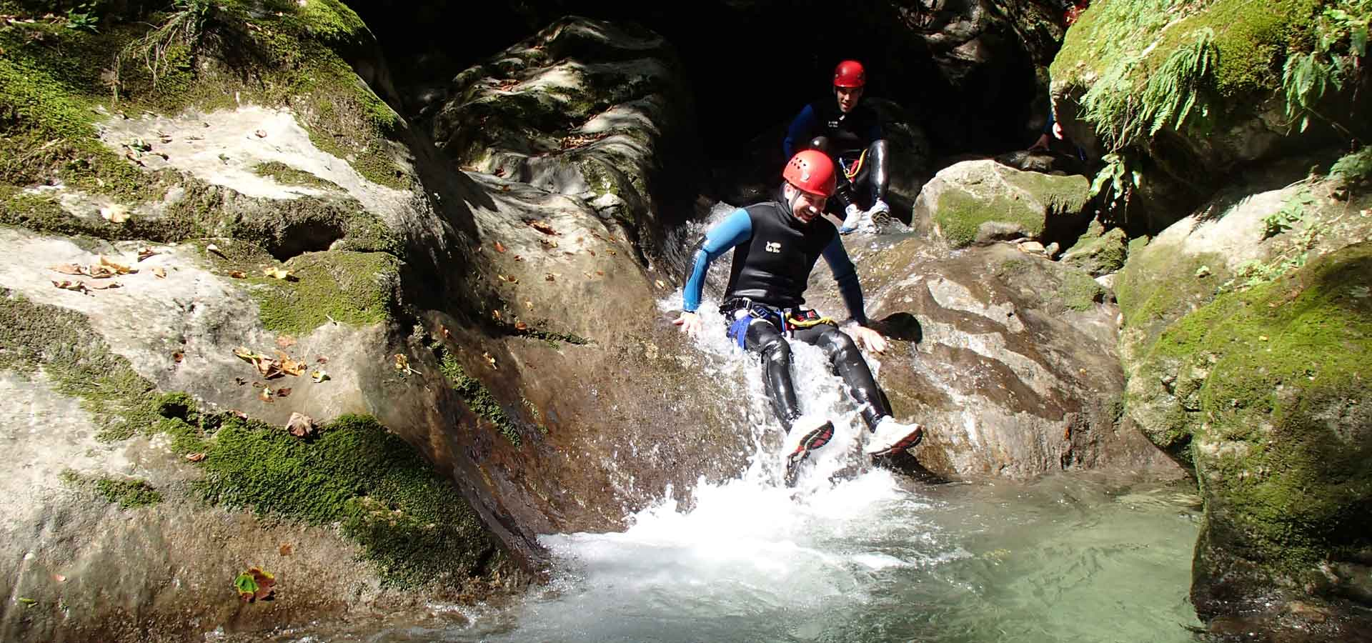 Canyoning Montmin Classique