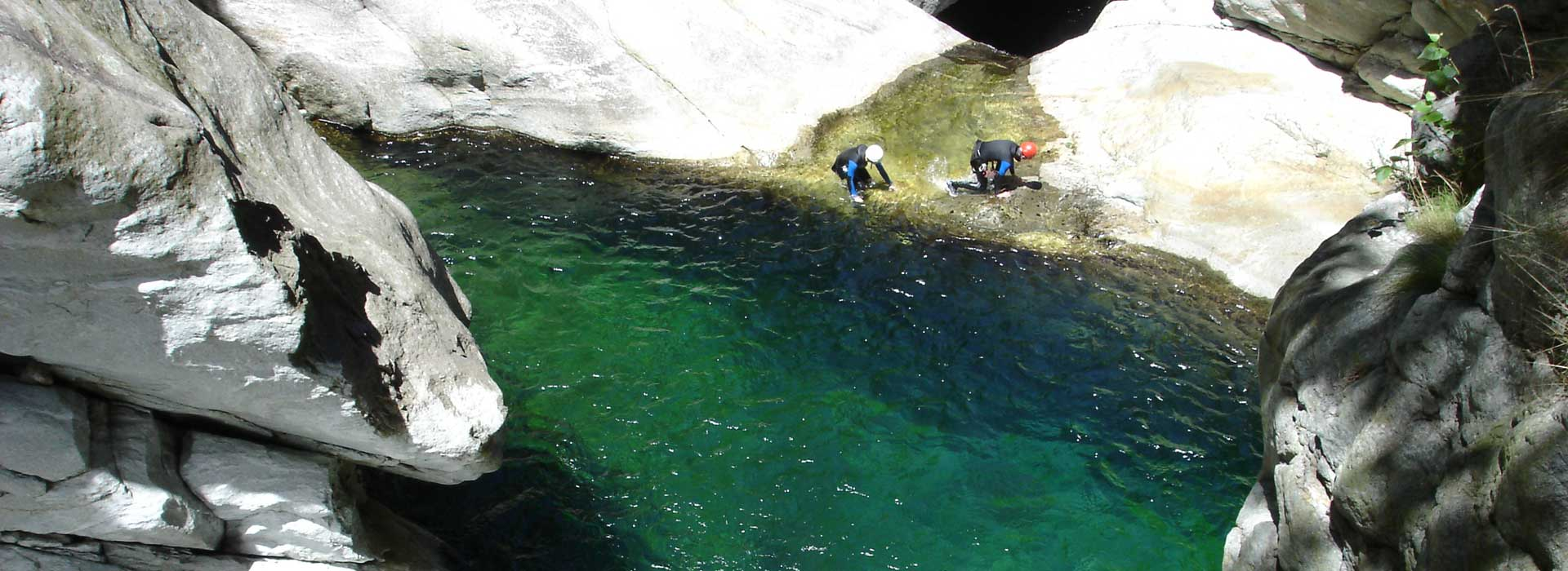 Canyoning en Italie: Le Fer