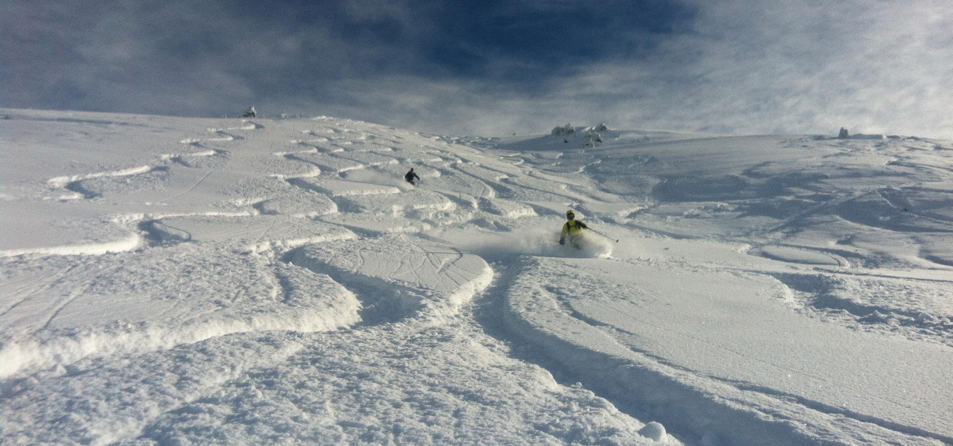 Ski Hors Piste Meribel