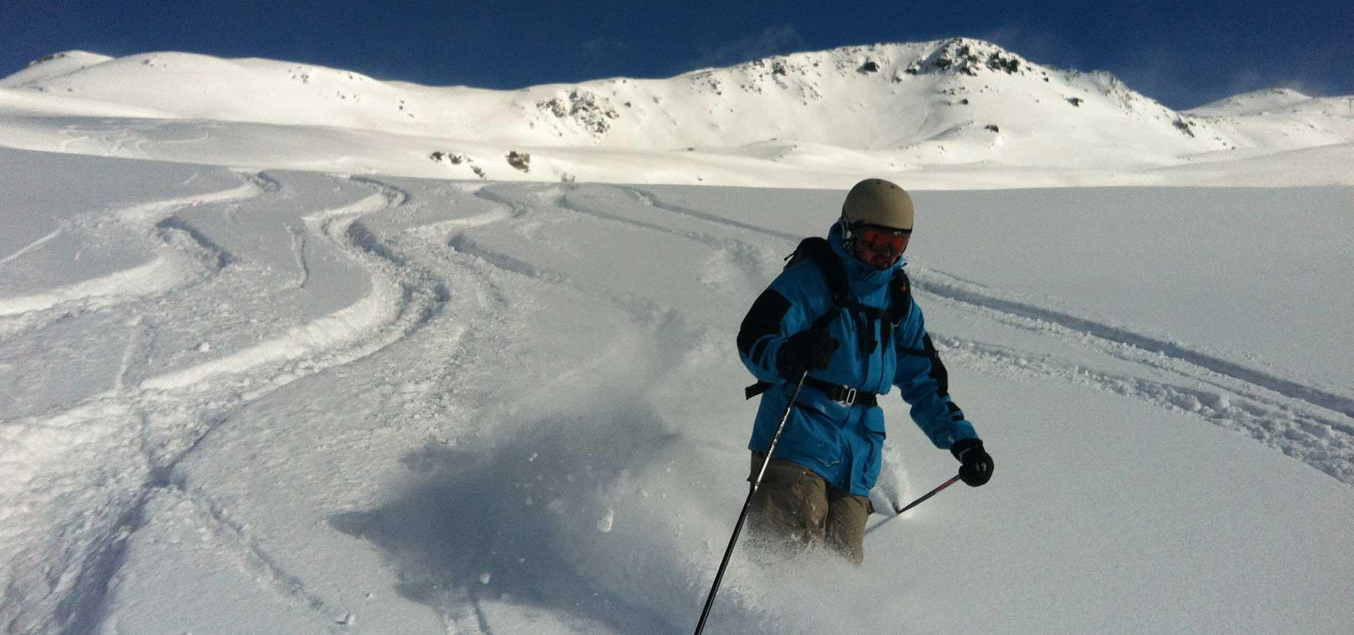 Ski Hors Piste Val Thorens