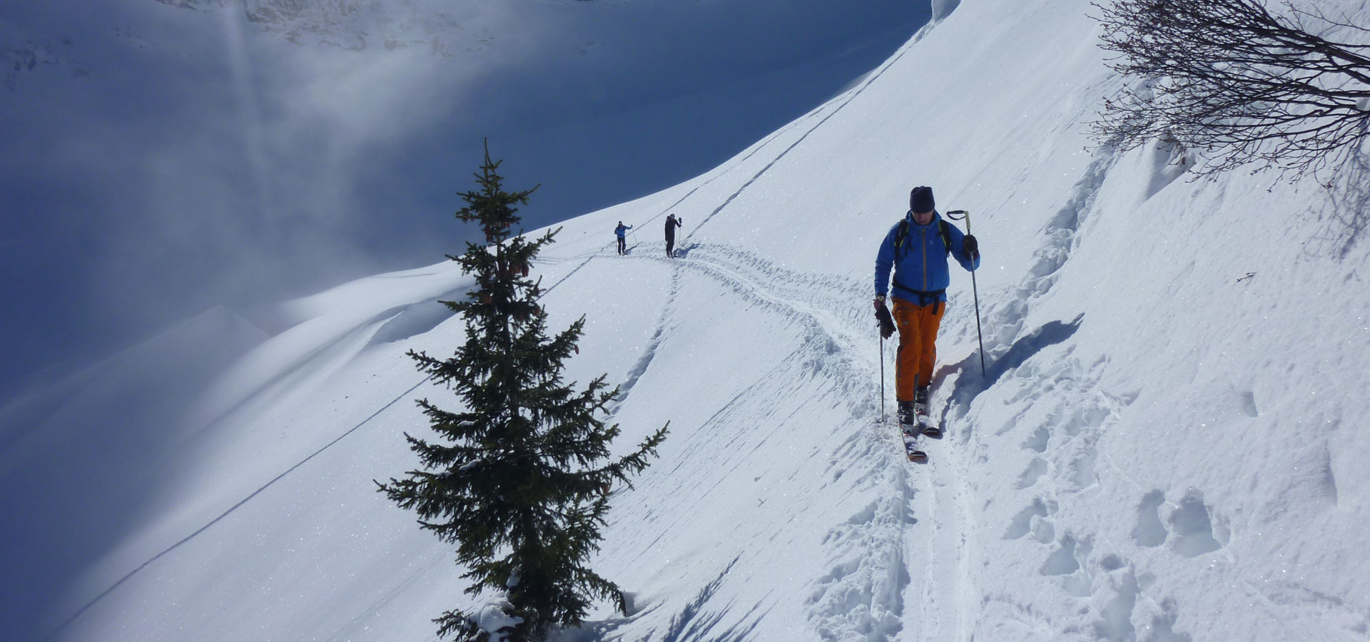 Mix ski hors-piste et rando 3 Vallées