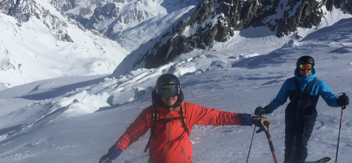 haut du glacier de gebroulaz